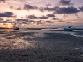 Zonsopkomst haven Nes