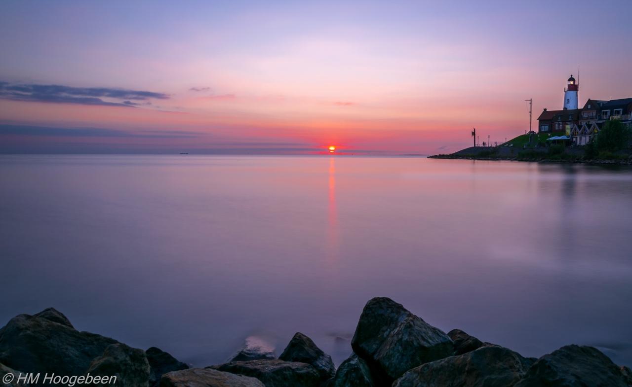 Sunset Urk augustus 2016