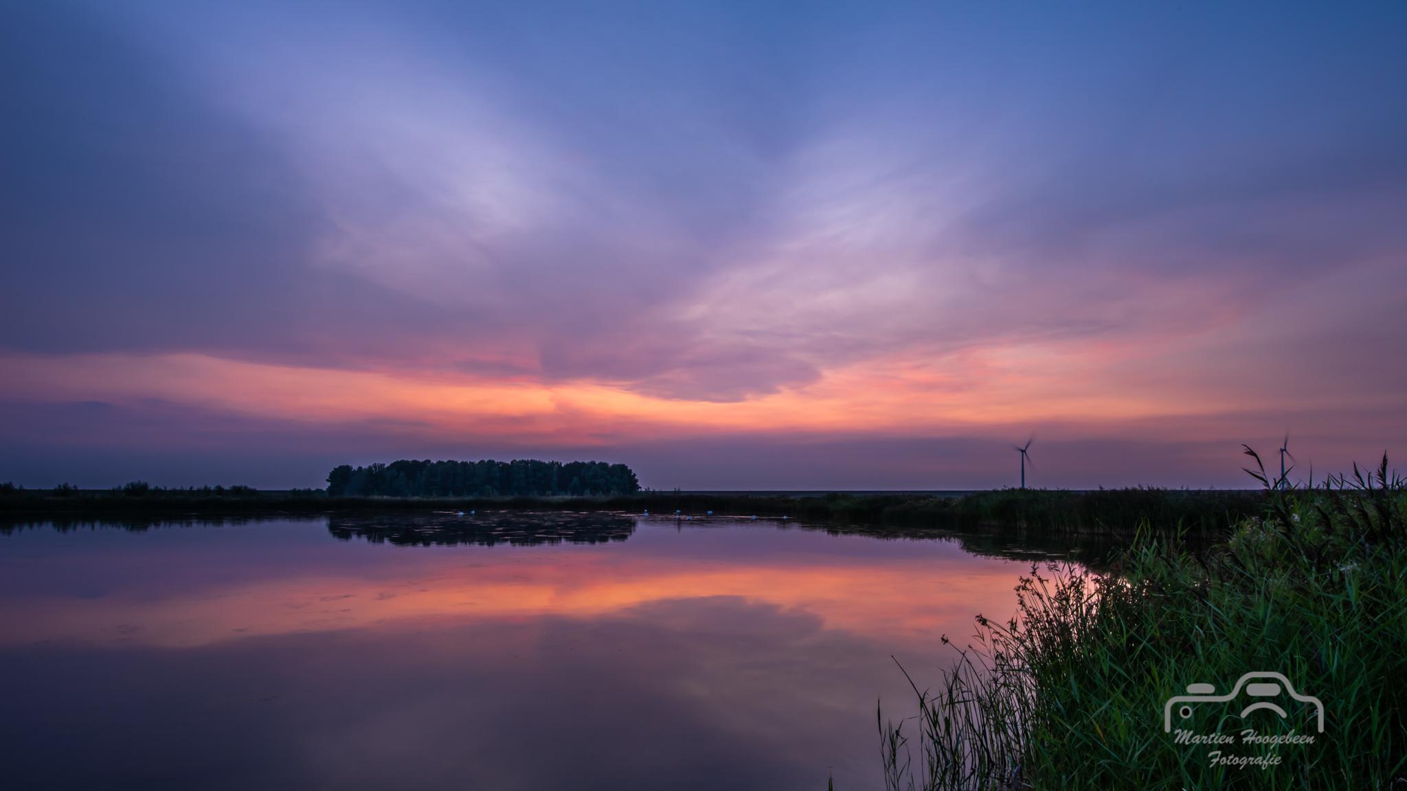 Sunset Rotterdamse Hoek